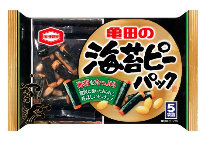 20% Off + Delivery from Japan Kameda Senbei Rice Cracker with Seaweed Laver