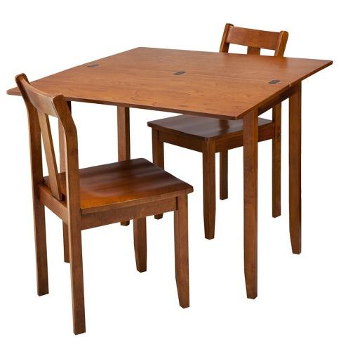 3 Piece Expandable Dining Set