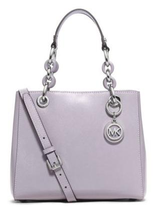 MICHAEL MICHAEL KORS  Cynthia Small Patent-Leather Satchel