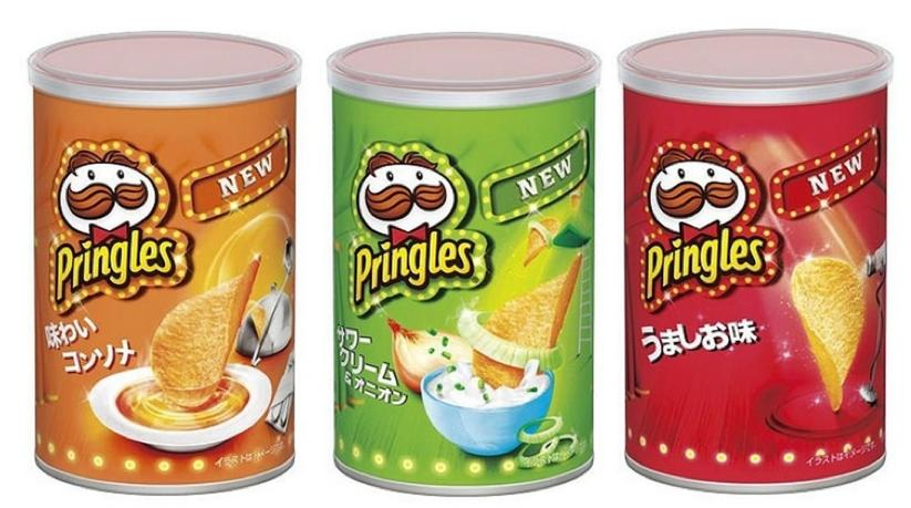 20% Off + Delivery from Japan New Pringles Potato Chips, 3 Flavors