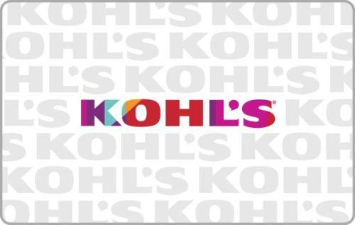 $85 Kohl's Gift Card with $15 Bonus Included - mail delivery