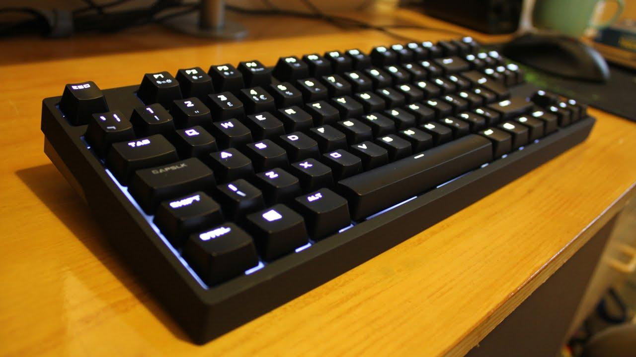 Cooler Master QuickFire Rapid-i Fully Backlit Mechanical Gaming Keyboard