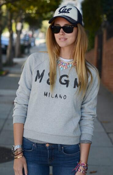 10% Off MSGM, MCQ ALEXANDER MCQUEEN and more brands sweatshirt @ Farfetch