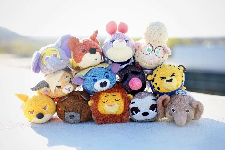 Buy 1 Get 1 50% Off Select Zootopia Tsum Tsum Mini Plush @ disneystore