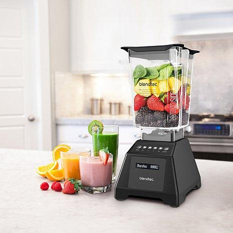 Blendtec Classic 560, FourSide Jar, Black: Electric Countertop Blenders