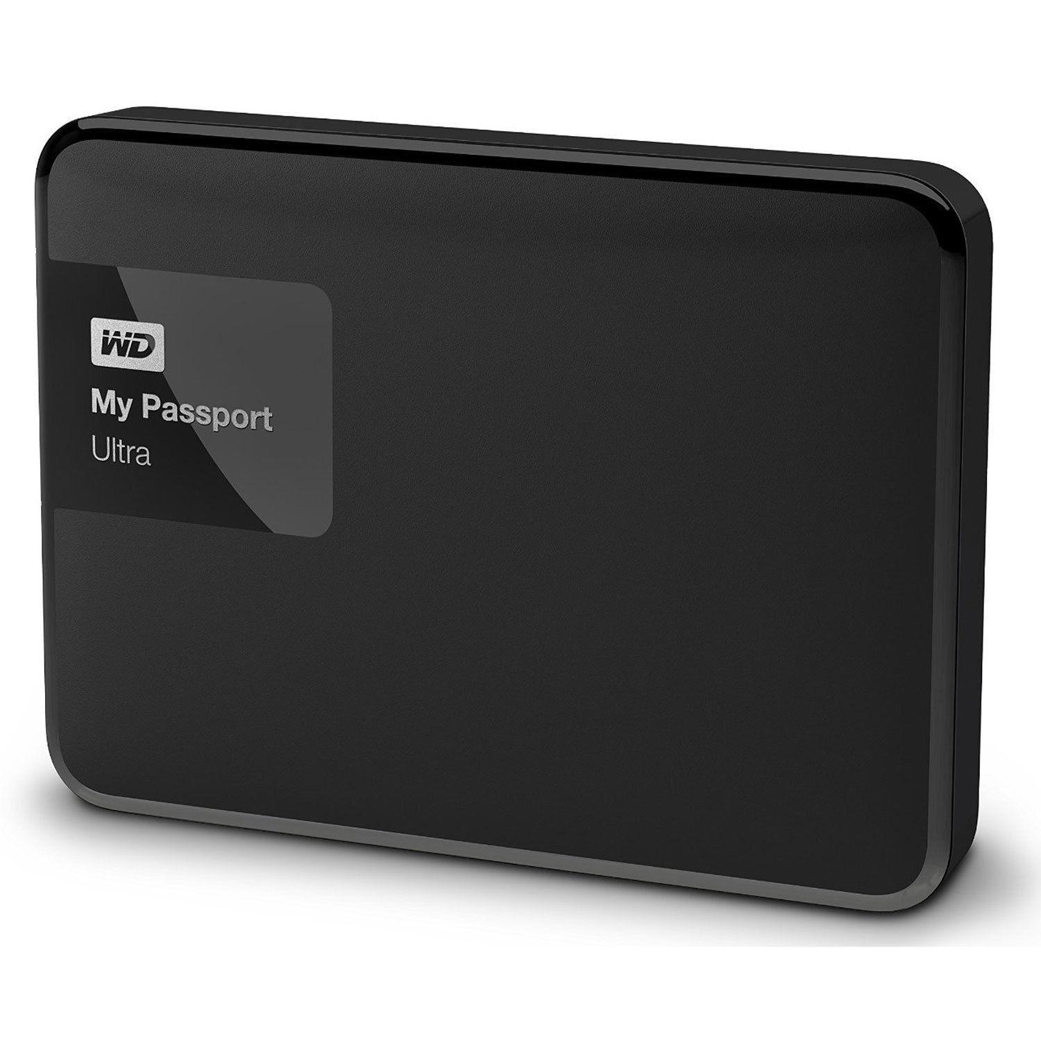 Western Digital My Passport Ultra 1 TB Portable External Hard Drive, Black