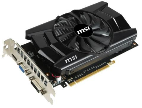 MSI 2GB N750TI-2GD5/OC GeForce GTX 750 Ti Video Card