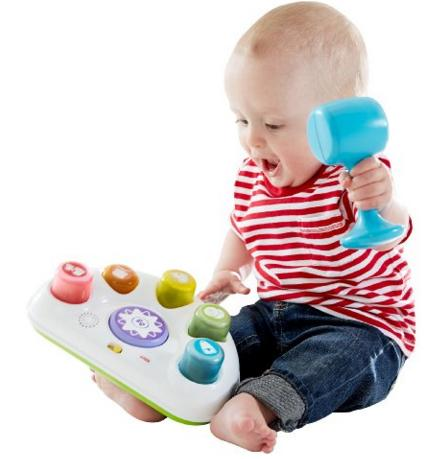 Fisher-Price Tappin' Beats Bench @ Amazon