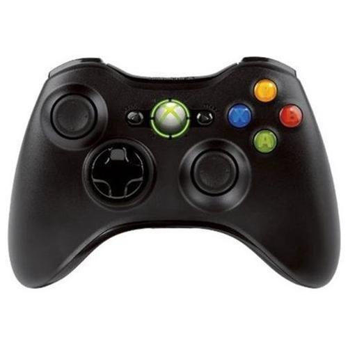 Microsoft Xbox 360 Wireless Remote Controller Black - Reconditioned