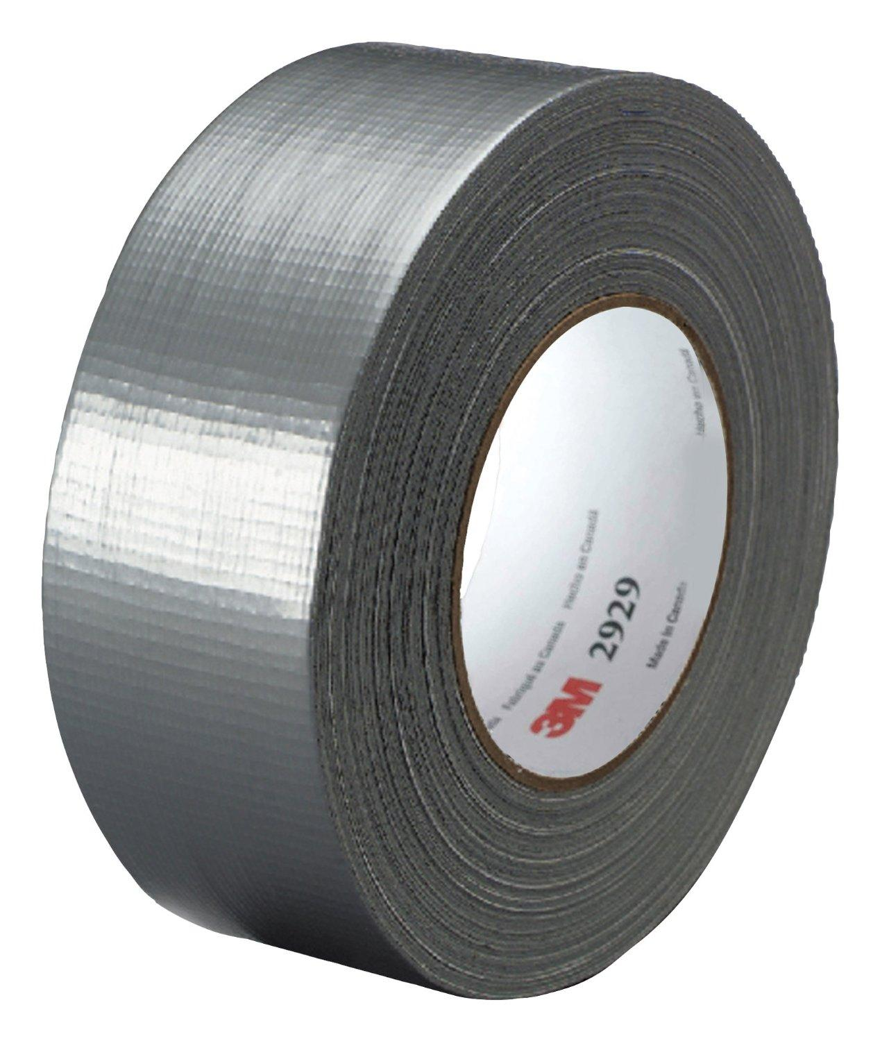 $5.77 3M Utility Duct Tape 2929 Silver, 1.88 in x 50 yd 5.8 mils (Pack of 1)