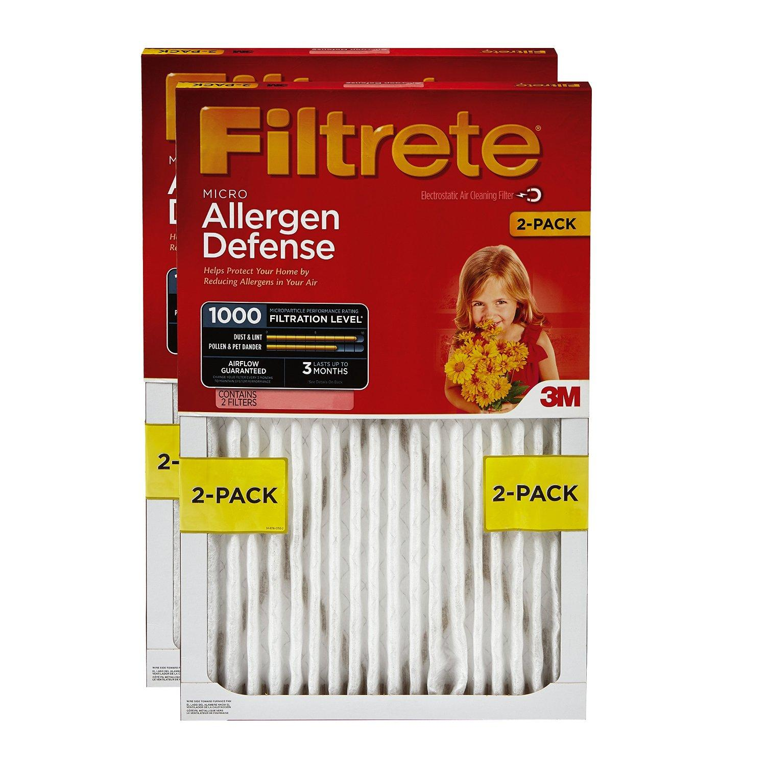 Up to 50% Off Select 3M Filtrete Home Filters @ Amazon.com
