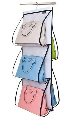 Misslo Hanging Closet Handbag Organizer Purse Holder