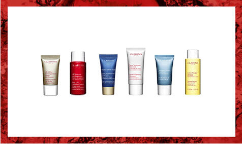 Free 6 Samples with Any Order @ Clarins