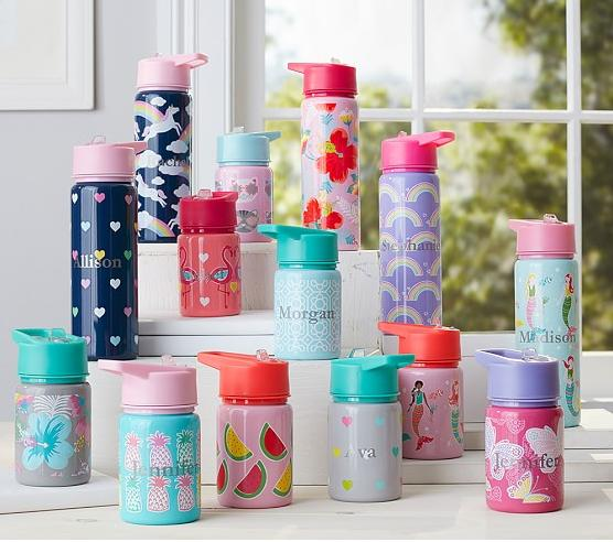 30% Off Water Bottles & Containers@ Pottery Barn Kids
