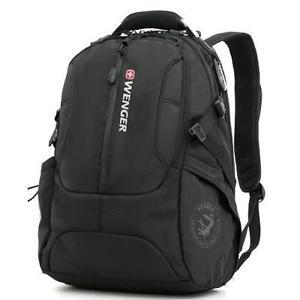 Wenger SA1537 Black Laptop Computer Backpack