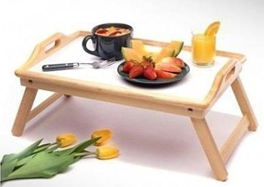$11.06 Winsome Wood Breakfast Bed Tray with Handle Foldable Legs