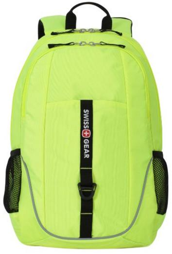 SwissGear SA6639 Neon Yellow Computer Backpack