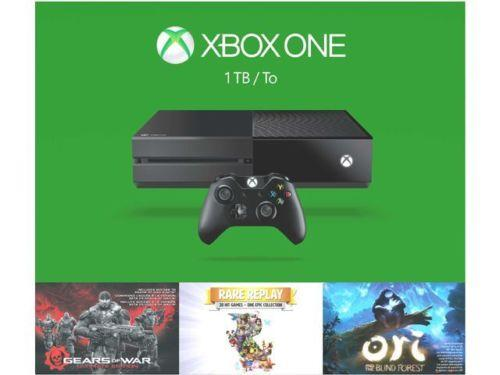 Xbox One 1TB Holiday Gears of War: Ultimate Edition + Rare Replay + Ori