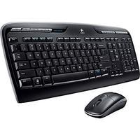 $19.99 Logitech MK320 Full-Size Wireless Multimedia Keyboard and Optical Mouse Combo