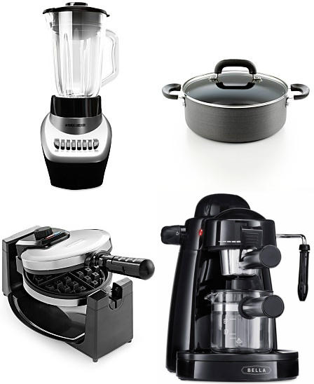 From $9.99 Select Small Kitchen Appliances @ macys.com