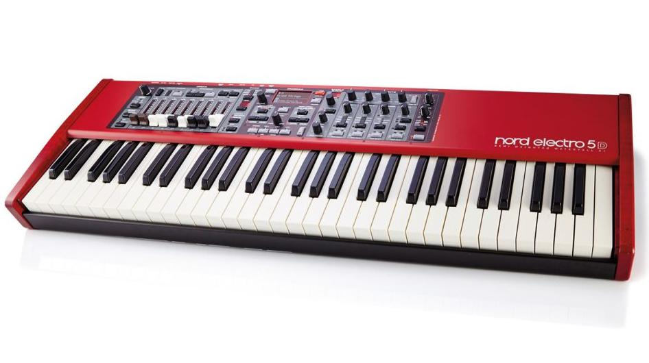 NORD Electro 5D 73-Key Semi-Weighted Waterfall Keyboard NELECTRO5D-73