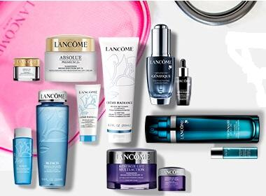 15% Off + Free 5 Samples Select Jumbo Size Products @ Lancome