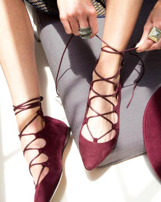 Up to 80% Off Women's Lace-up Sandals @ 6PM.com