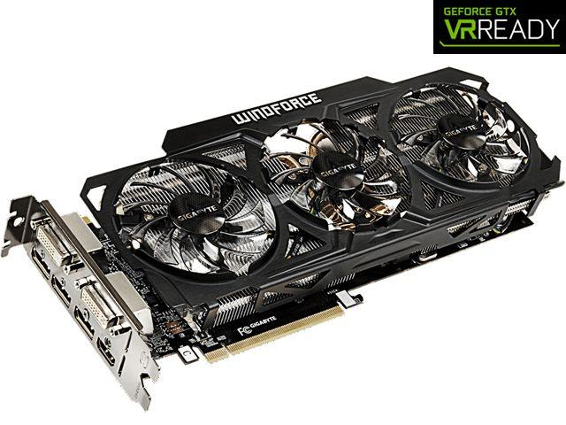 GIGABYTE GeForce GTX 980 4GB WINDFORCE 3X 450W OC EDITION