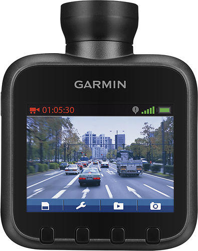 "$119.99 Garmin - Dash Cam 20 2.3"" GPS Driving Recorder"