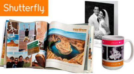 58% Off+Extra 25% Off Shutterfly Credit on Sale @ Groupon