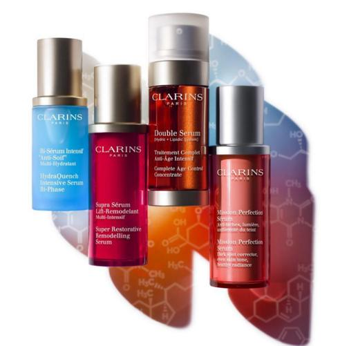 Free 5-Piece Gift(value $51) with Any $50 Clarins Purchase @ Nordstrom