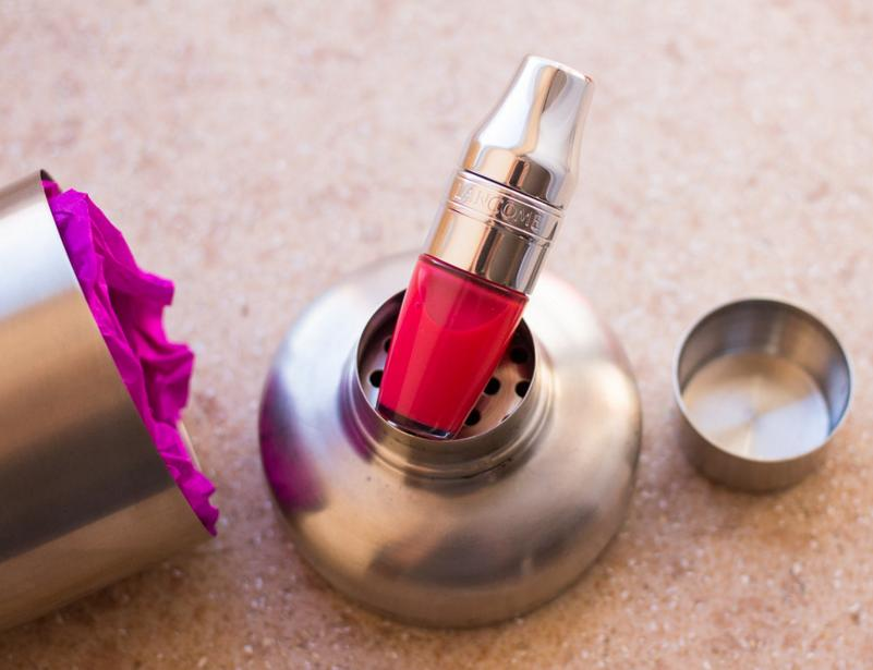$21 + GWP JUICY SHAKER Pigment Infused Bi-Phased Lip Oil @ Lancome