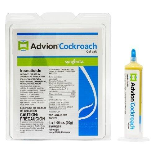 $20 Advion Syngenta Cockroach Gel Bait 1 Box(4 Tubes)