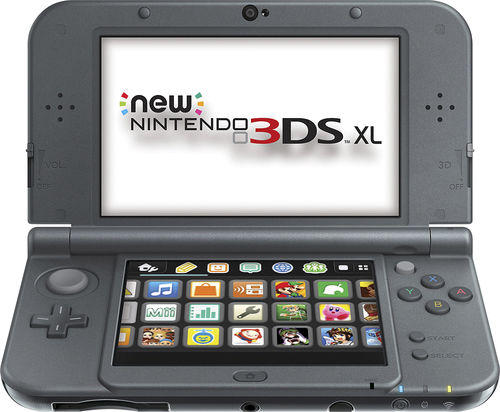 Refurbished Nintendo New 3DS XL Black
