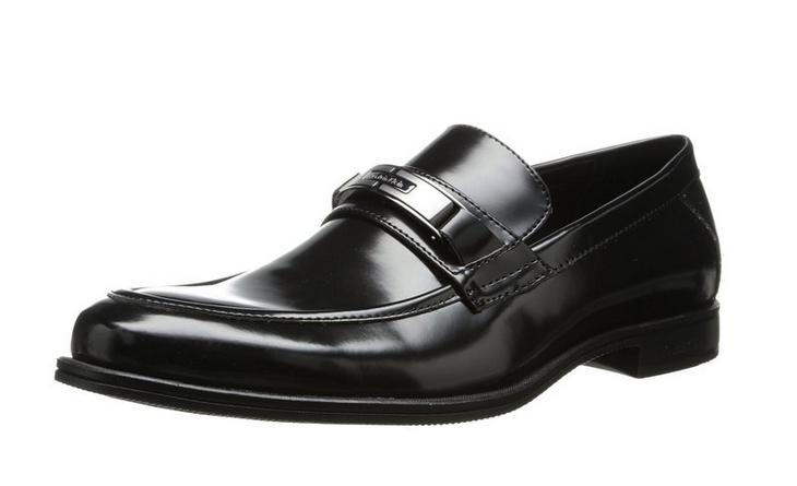 Calvin Klein Men's Armond Box Smooth Slip-On Loafer