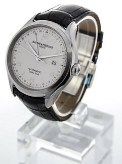 Baume and Mercier Clifton Dual Time Men's Watch BMMOA10112