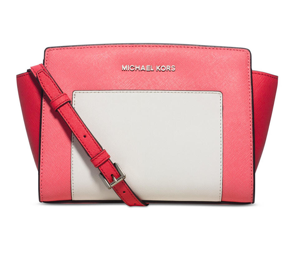 MICHAEL Michael Kors Selma Colorblock Medium Messenger