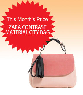 Subscribe to Dealmoon Newsletter, Win the Zara CONTRAST MATERIAL CITY BAG