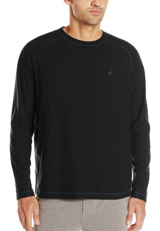 Nautica Men's Cozy Fleece Crew Top