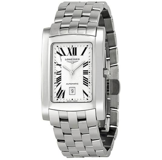 LONGINES DolceVita Silver Dial Stainless Steel Men's Watch