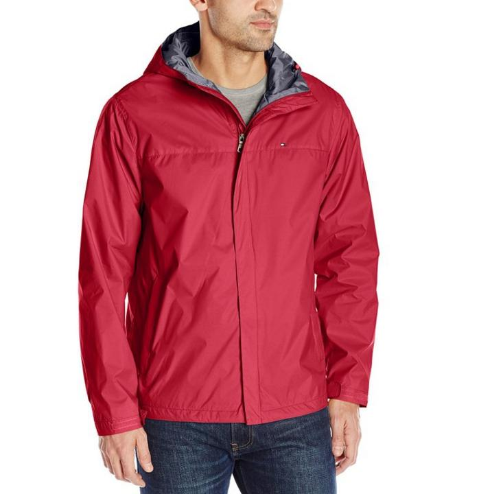 $49.95 Tommy Hilfiger Men's Waterproof Breathable Hooded Jacket