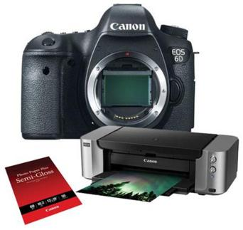 Canon EOS 6D DSLR Camera Body with Special Promotional Bundle