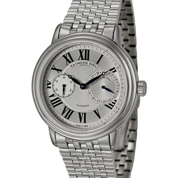 "$788 Raymond Weil Men's ""Maestro"" Stainless Steel Automatic Watch"