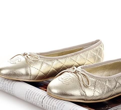CHANEL Quilted Ballet Flat On Sale @ MYHABIT