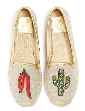 Up to 25% Off+Extra Up to 25% Off Tory Burch Santa Fe A-Line Espadrille Flats @ Bloomingdales