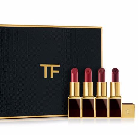 $140 Tom Ford Lips & Boys Jasmin Rouge 4-Piece Gift Set