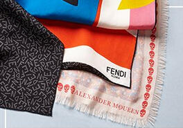 Up to 64% Off Fendi, Mcqueen & Burberry Scarves @ MYHABIT