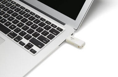 PNY Turbo 64GB USB 3.0 Flash Drive, Pearl White (P-FD64GTBOPW-GE)