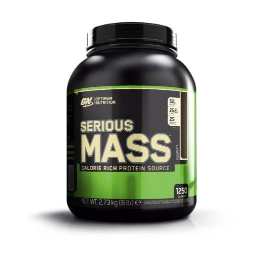 Optimum Nutrition Serious Mass, Chocolate, 6 Pound