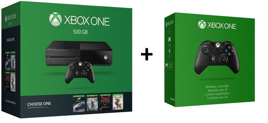 Xbox One 500GB Name Your Game Bundle + Xbox One Wireless Controller